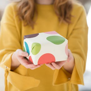 Bright Spotty Gift Wrap