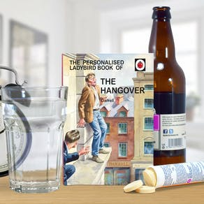 Personalised Ladybird Book: The Hangover Book