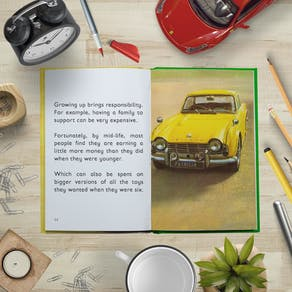 Personalised Ladybird Book Of The Mid Life Crisis