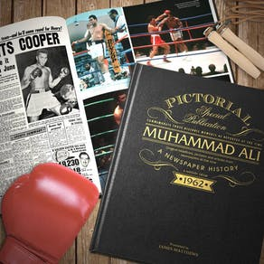 Embossed Muhammad Ali Book