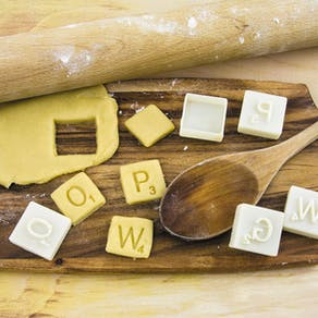 Scrabble Cookie Cutters
