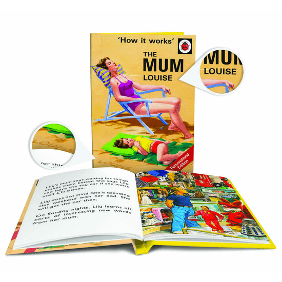 Personalised Ladybird Book Of Mum