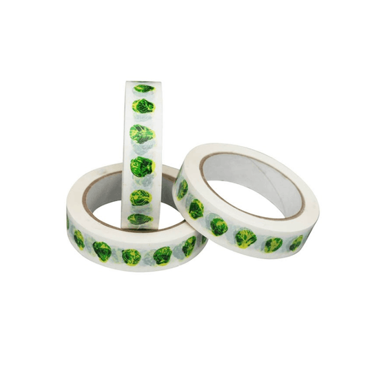 Brussel Sprouts Gift Wrap Tape