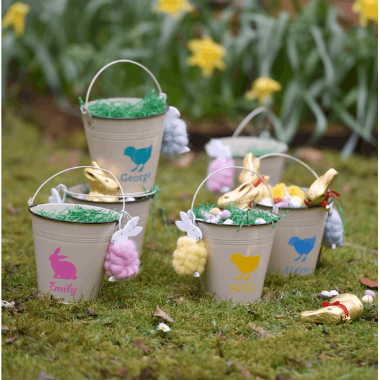 Personalised party Buckets
