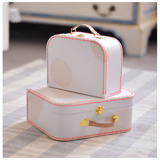 Pink Spotty Carry Cases