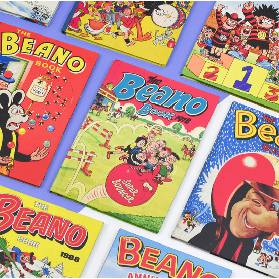 Personalised Beano Annual From Your Year