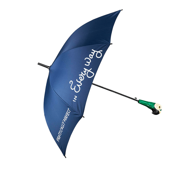 Personalised Mary Poppins Style Umbrella