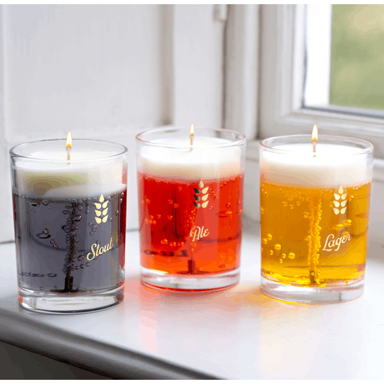 Realistic Beer Candle