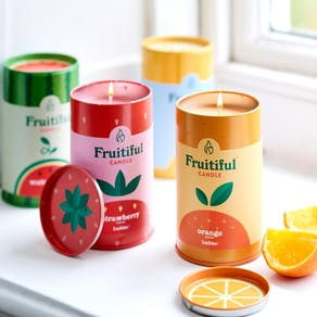 Fruitiful Candle Gift