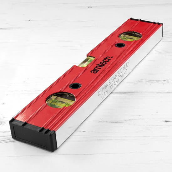 Personalised Spirit Level