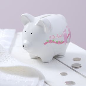 Personalised Ceramic Piggy Bank