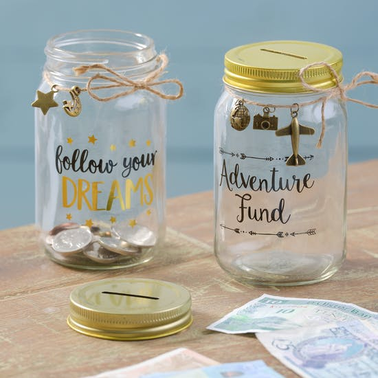 Glass Money Boxes
