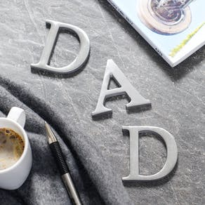 Personalised World's Okayest Dad Notebook