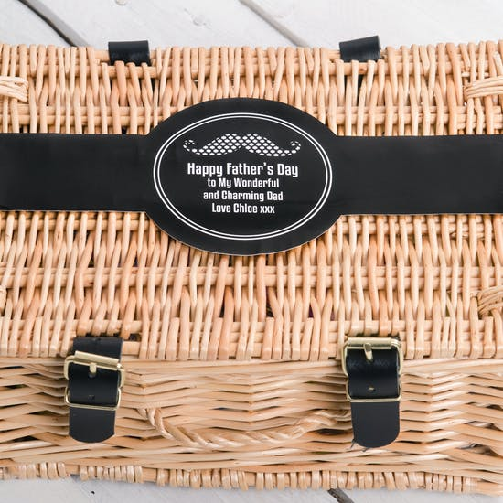 Dads Personalised Retro Sweet Hamper