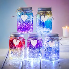 Sparkle LED Ombre Jar