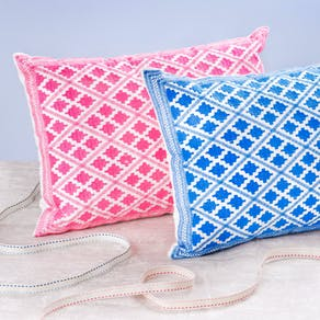 Bright Souk Embroidered Cushions