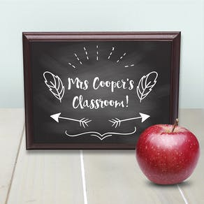 Teachers Class Sign