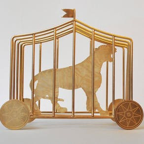Tiger In A Cage Toast Rack