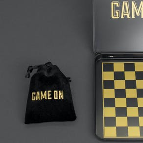 Travel Metal Chess Game