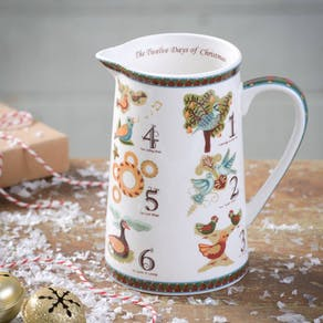 Twelve Days Of Christmas Jug