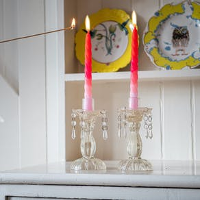 Twisted Handmade Neon Candles