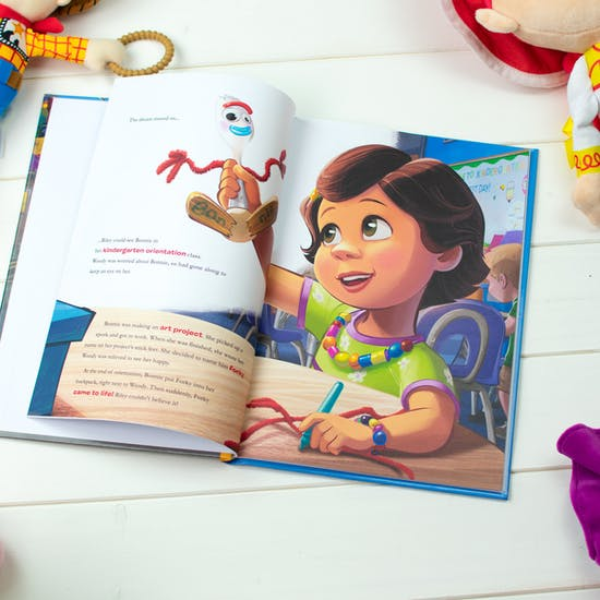 Toy Story Four Personalised Book