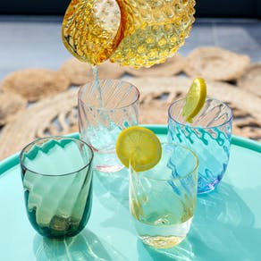 Delicate Glass Ombre Tumblers