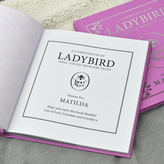 Personalised Luxury Giftboxed Ladybird Book