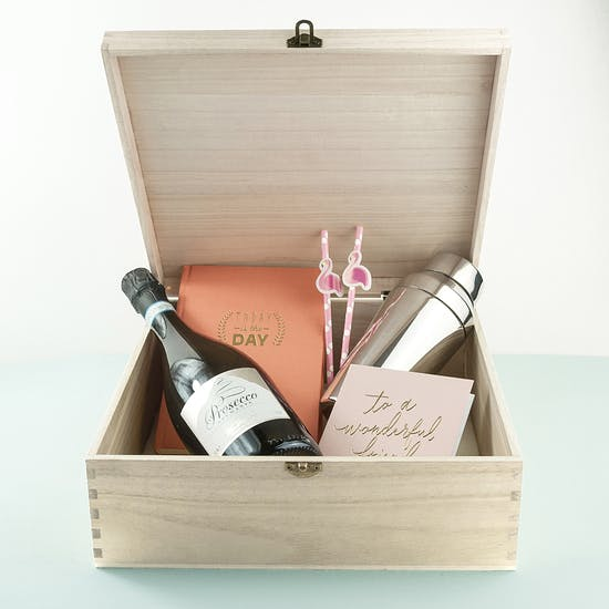 The Ultimate Personalised Girly Pink Box