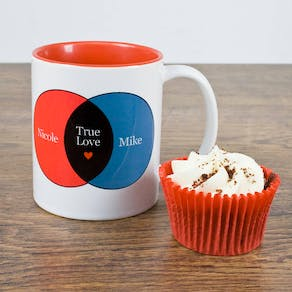 Venn Diagram Love Mug