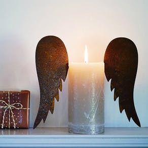 Vintage Angel Wings