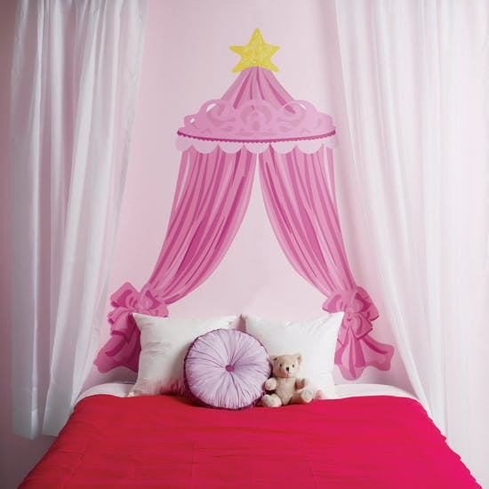 Princess Headboard Wall Sticker
