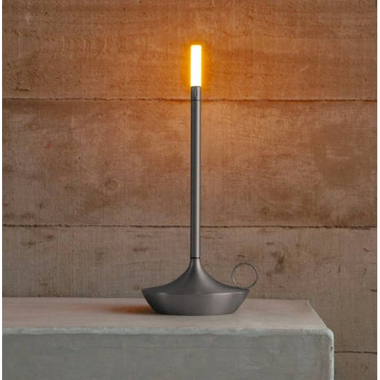 Wick Rechargeable Usb Table Lamp