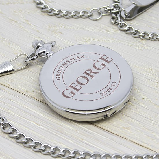 Wedding Party Pocket Watch