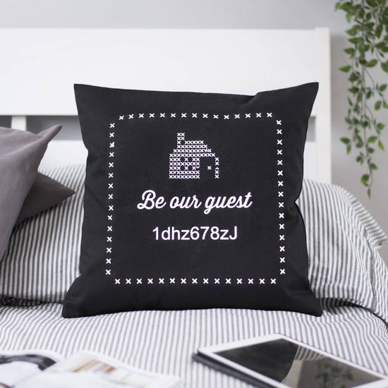 Wifi Code Cushion