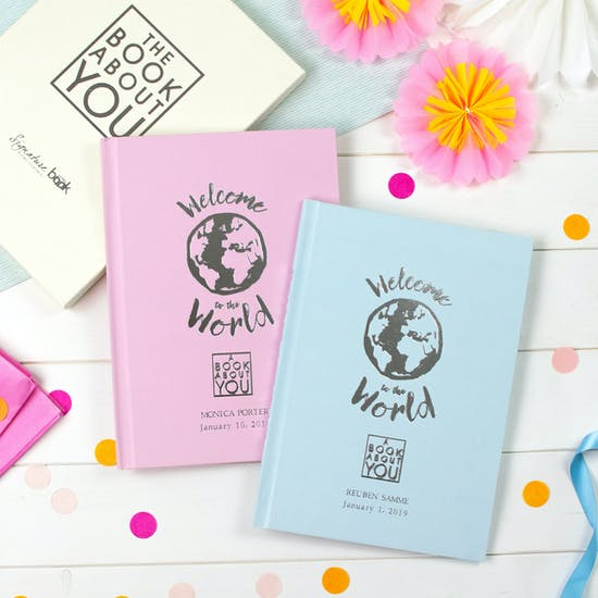 Welcome to the World Personalised Baby Book