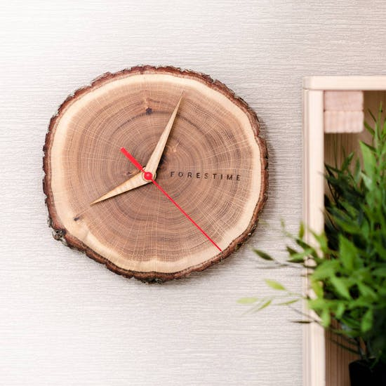 Wall Mounted Forest time Clock