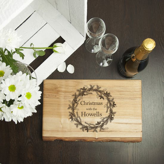 Welsh Ash Christmas Serving Board