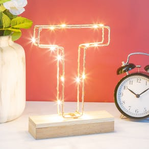 Wire Light Up Letters