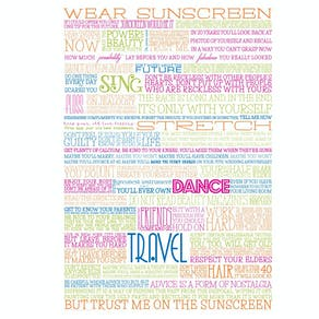Classic Sunscreen Poster