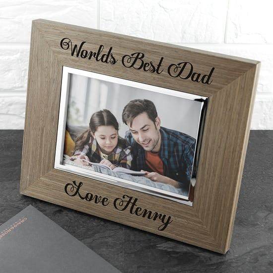 Worlds Best Wood Photo Frame