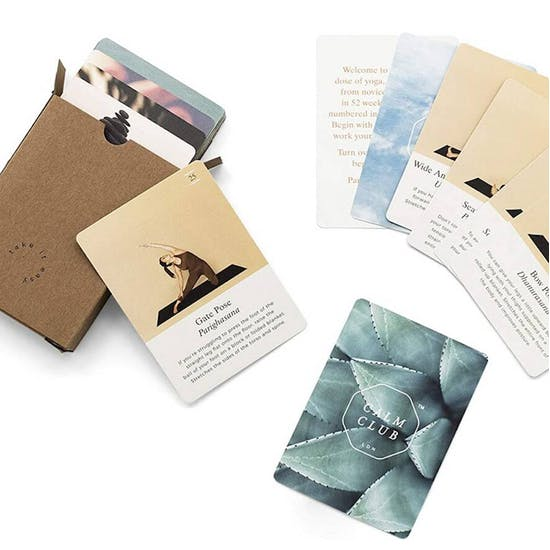Yoga Deck of cards for beginners