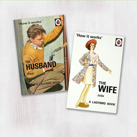Personalised Husband And Wife Books
