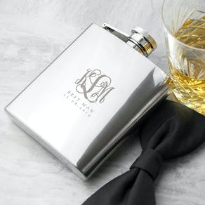 Monogrammed Wedding Tankard