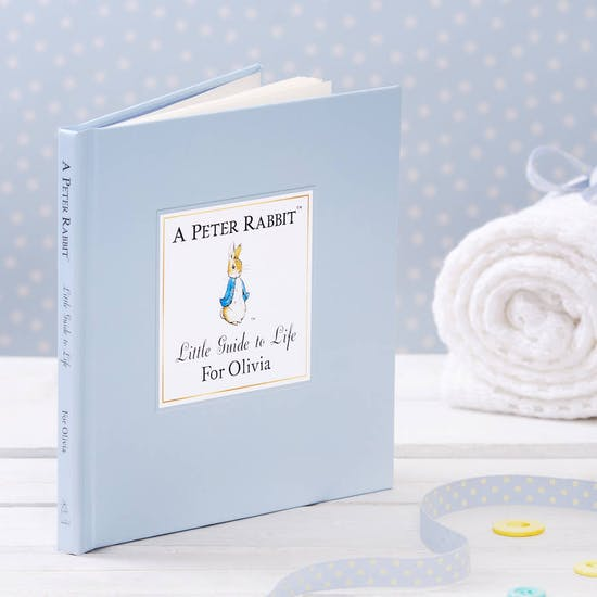 Set of Three Personalised Peter Rabbit Books