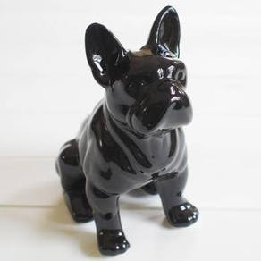 Ceramic French Bulldog Money Box