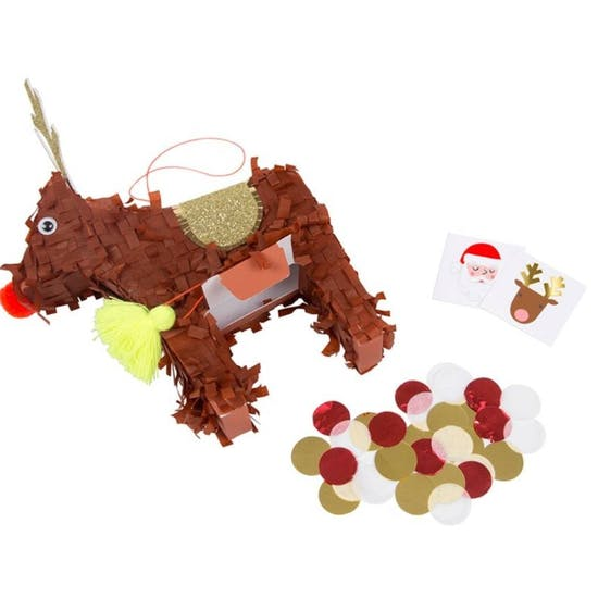 Christmas Reindeer Pinata Decoration