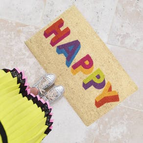 Colour Pop Happy Doormat