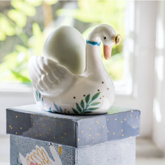 Delicate Swan Egg Cup