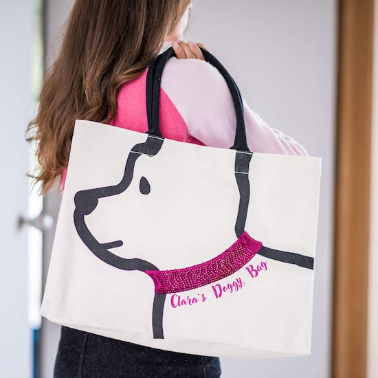 Personalised Doggy Tote Bag